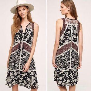 Anthropologie | Floreat Grasslands Midi Boho Dress